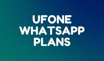 Ufone prepaid WhatsApp offers